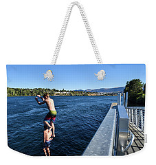 Take Our Picture 3 Weekender Tote Bag