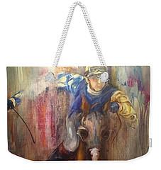 Take The Lead Weekender Tote Bag by Heather Roddy