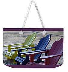 Weekender Tote Bag featuring the photograph Take Your Pick by John Glass