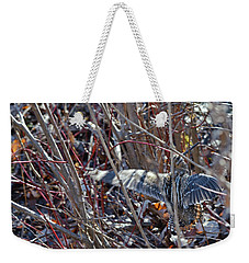 Takeoff Of The Snipe Weekender Tote Bag by Asbed Iskedjian