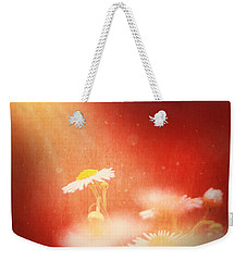 Weekender Tote Bag featuring the photograph Taking In The Light by Greg Collins