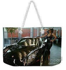 Talisa Hartleys Sports Cars And Big Muscles Weekender Tote Bag