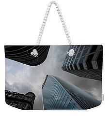 Talk To Me Weekender Tote Bag by Alex Lapidus