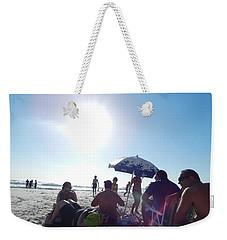 Talking About Life Weekender Tote Bag by Beto Machado