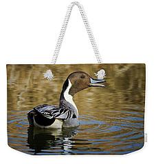 Talking Pintail Weekender Tote Bag