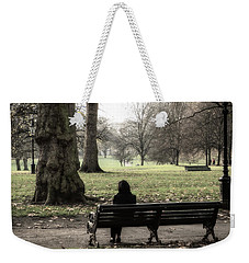 Weekender Tote Bag featuring the photograph Talking To The Ents by Glenn DiPaola