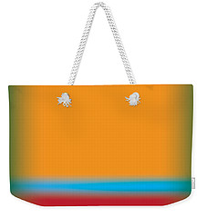 Tall Abstract Color Weekender Tote Bag