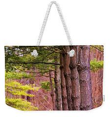 Tall Pines Standing Guard Weekender Tote Bag