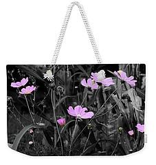 Tall Pink Poppies Weekender Tote Bag