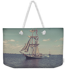 Tall Ship - 3 Weekender Tote Bag