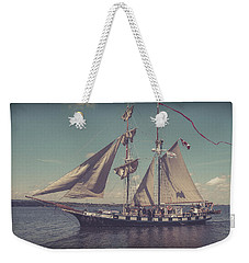 Tall Ship - 4 Weekender Tote Bag