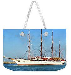 Tall Ship Sea Cloud  Weekender Tote Bag
