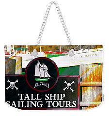 Tall Ship Tours Georgetown S C Weekender Tote Bag by Bob Pardue