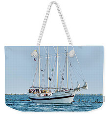 Tall Ship Windy - Chicago Weekender Tote Bag