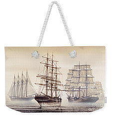 Tall Ships Weekender Tote Bag