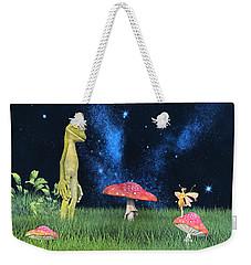 Tall Tales Weekender Tote Bag by Betsy Knapp