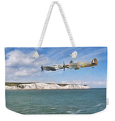 Weekender Tote Bag featuring the photograph Tally Bally Ho by Roy McPeak
