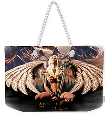 Talon Of The Hawk Woman Weekender Tote Bag