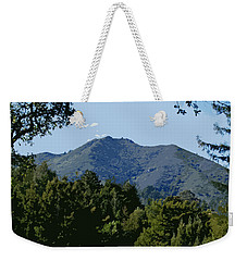 Tamalpais...the Sleeping Princess Weekender Tote Bag