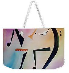Tambourine Jam Weekender Tote Bag