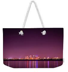 Tampa Bay Skyline Weekender Tote Bag