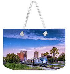 Weekender Tote Bag featuring the photograph Tampa Departure by Marvin Spates
