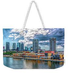 Tampa Florida Skyline Weekender Tote Bag