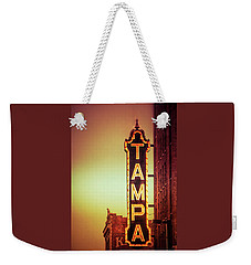 Tampa Theatre Weekender Tote Bag by Carolyn Marshall