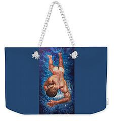 Tan Lines In Space Weekender Tote Bag