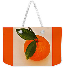 Tangerine By Nature Weekender Tote Bag