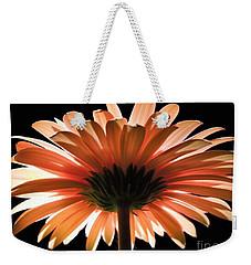 Tangerine Gerber Daisy Weekender Tote Bag