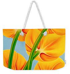 Tangerine Weekender Tote Bag