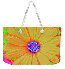 Tangerine Sunshine Weekender Tote Bag by Ann Johndro-Collins