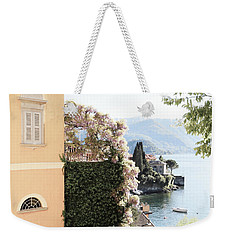 Weekender Tote Bag featuring the photograph Yellow And Lavender Vista by Brooke T Ryan