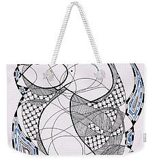 Tangle Monster Drawing Weekender Tote Bag