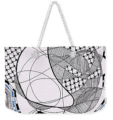 Tangle Monster Drawing Weekender Tote Bag