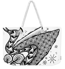 Tangled Serpent Weekender Tote Bag