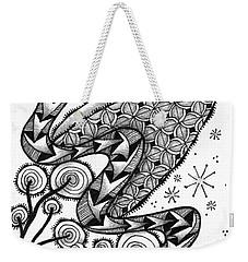 Tangled Serpent Weekender Tote Bag by Jan Steinle