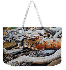 Tangled Timbers Weekender Tote Bag