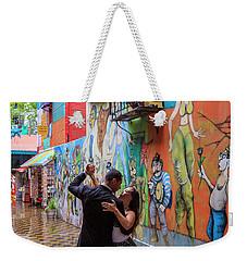 Weekender Tote Bag featuring the photograph Tango 06 by Bernardo Galmarini
