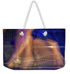 Tango Dancer Abstract - Buenos Aires Weekender Tote Bag by Stuart Litoff