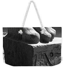 Tanis Foot Weekender Tote Bag by Donna Corless