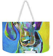 Tank Weekender Tote Bag by Robert Phelps