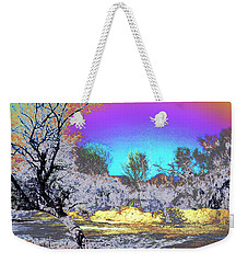 Tanque Verde Wash Abstract Weekender Tote Bag