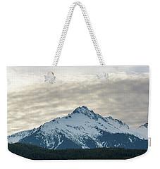Tantalus Mountain Range Closeup Weekender Tote Bag