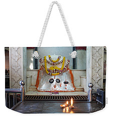 Weekender Tote Bag featuring the photograph Tantric by Jean luc Comperat
