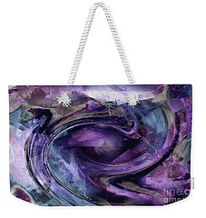 Tanzanite Tornado Weekender Tote Bag by Tlynn Brentnall