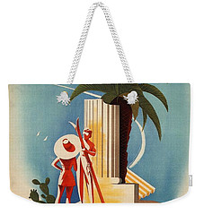 Taormina, Sicily, Italy - Couples - Retro Travel Poster - Vintage Poster Weekender Tote Bag