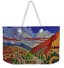 Taos Gorge Journey Weekender Tote Bag