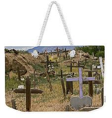 Taos Pueblo Cemetery Weekender Tote Bag
